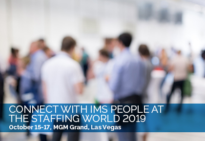 IMS People Possible at the Staffing World 2019 Expo