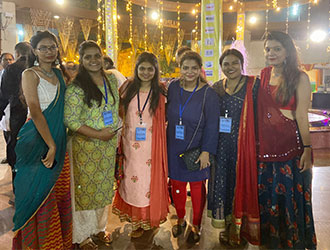 GARBA WITH MAKING A DIFFERENCE NGO